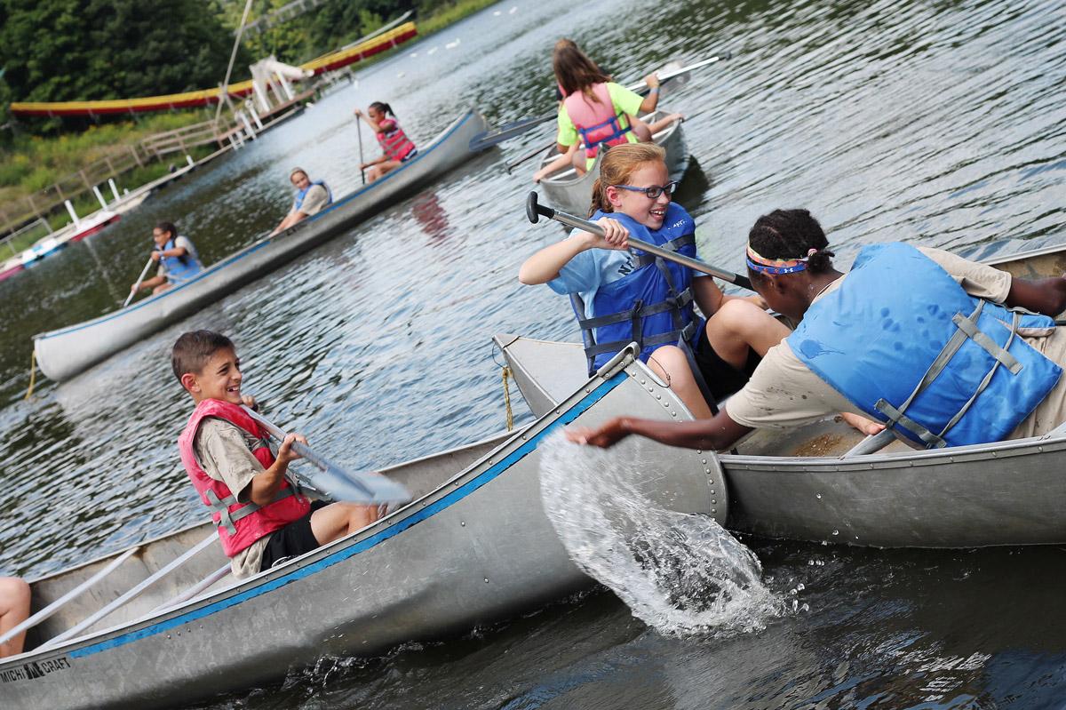 Eisenhower-Canoes